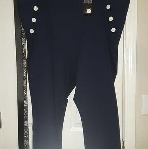 Torrid navy blue crop pants